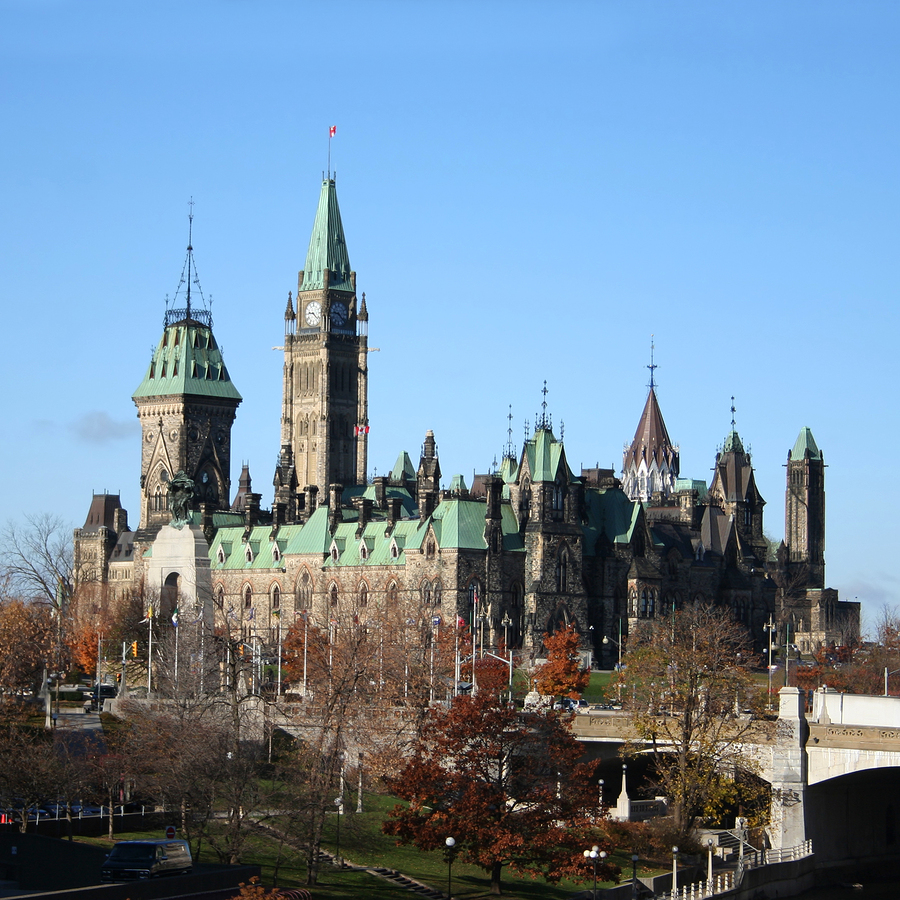 The Canadian Parliament where immigration policy is decided