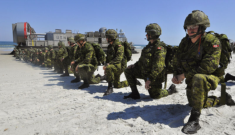 Canada military