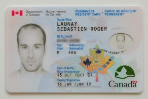 Permanent Resident Card Number