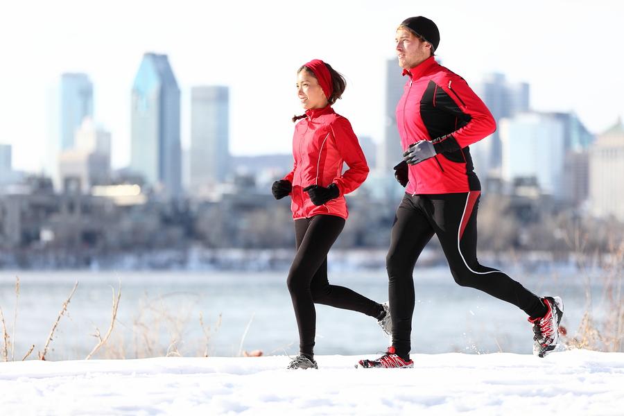 Citizens enjoying a run